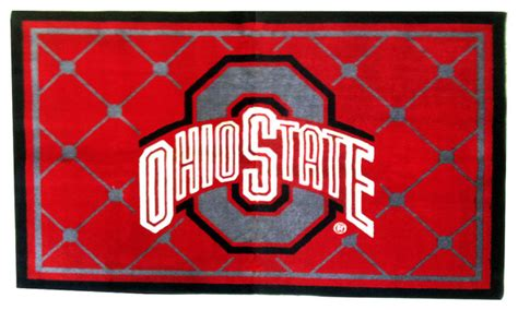 Ohio State Outdoor Rug Ohio State Outdoor Rug Ncaa Ohio State Buckeyes Tufted Rug 20 Inch X 30 Inch Sports Fan Area