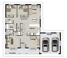 Small 3 Bedroom House Floor Plans 3 bedroom with office house plans design ideas 2017 2018