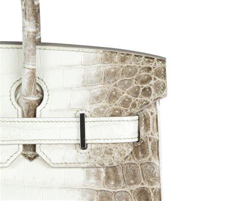 Hermes Birkin Croco 30 Birkin Himalaya Birkin Togo hermes white matte niloticus himalayan crocodile birkin