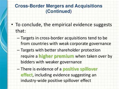 better corporate governance international corporate governance spillovers evidence