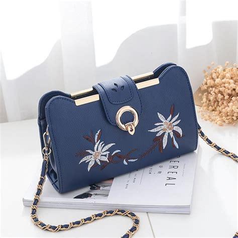 Termurah Clutch Bag Dompet Pesta jual b8972 darkblue clutch bag wanita elegan import