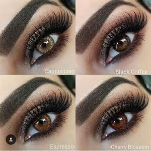light brown colored contacts desio desioeyes new desio coffee collection in color