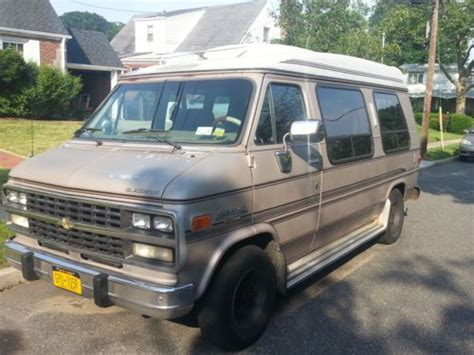 sell used 1992 chevrolet g20 sportvan extended passenger van 3 door 5 7l in valley stream new