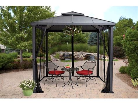 metal frame gazebo pros and cons of gazebo with metal roof gazebo ideas