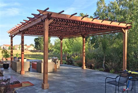Attached Carport Pictures by Garden Pergolas