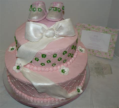 Where To Get A Baby Shower Cake by The Woodlands Cake Boutique Baby Shoes Baby Shower Cake