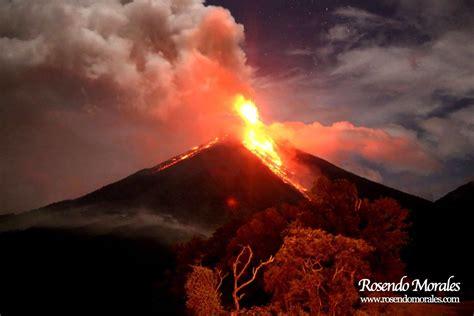 Morales Fuego eruption of fuego cotopaxi and tungurahua volcanoes