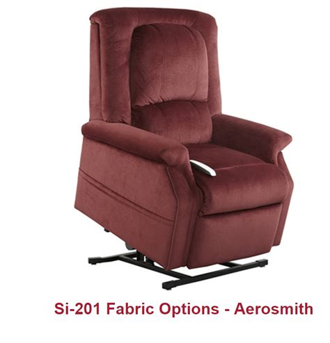 Comfort Colors Wine by Serta Comfort Lift Power Lift Chaise Lounger