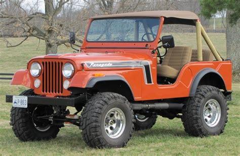 1975 Jeep Wrangler 1975 Jeep Cj 5 Renegade Anything Jeep