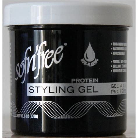 styling gel black sofn free protein styling gel black small size lady edna