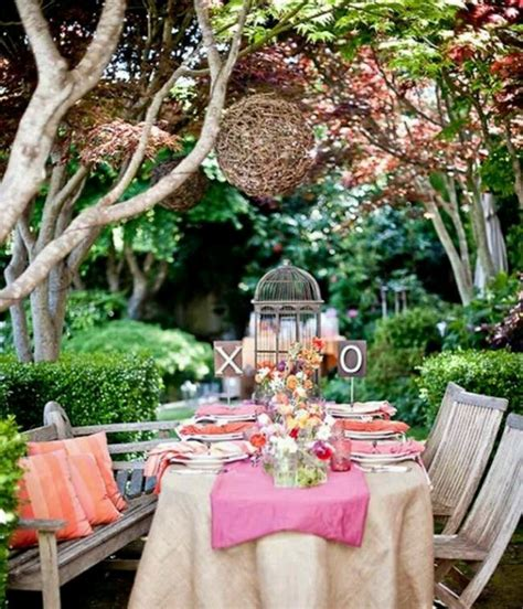 Garden Wedding Shower by Whimsical Garden Bridal Shower Inspiration
