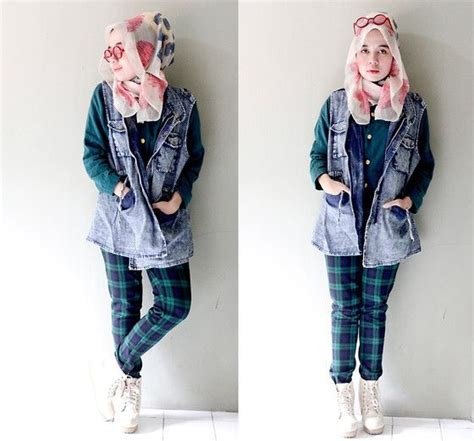 Baju Wanita Tartan Top 32 best style images on muslim fashion