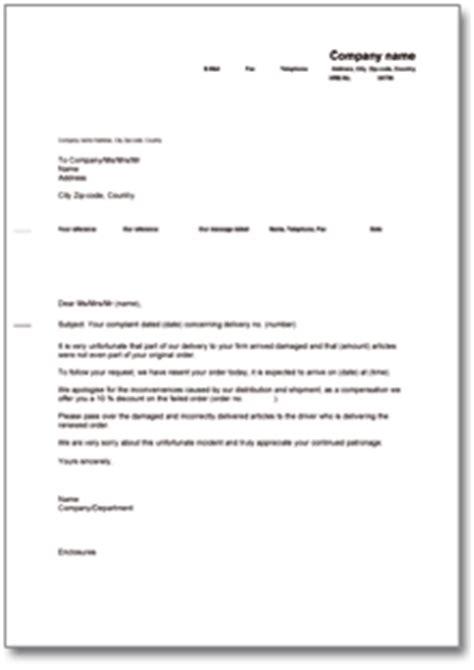 Musterbrief Angebot In Englisch Rabatt Angebot Nach Reklamation Englisch De Musterbrief