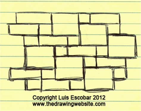 rectangle pattern drawing how drawing can be as easy for you as writing part 2