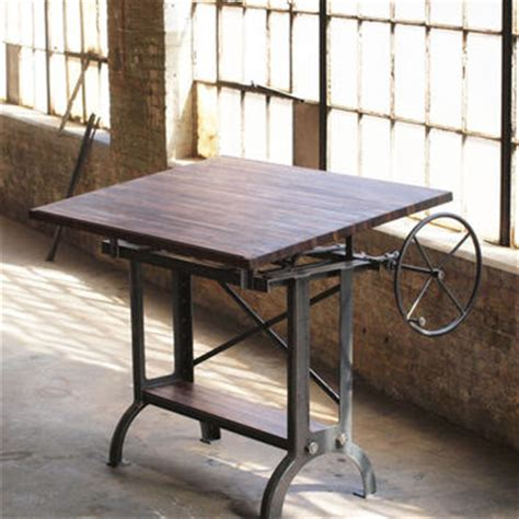 Stand Up Drafting Table Stand Up Industrial Drafting Table Desk From Cosironworks On