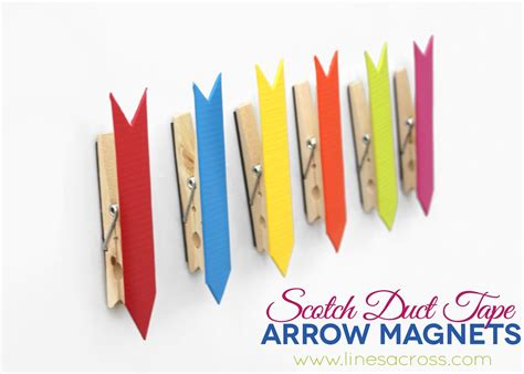 colorful duct colorful scotch 174 duct arrow magnets lines across