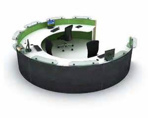 Semi Circular Reception Desk by 301 Moved Permanently