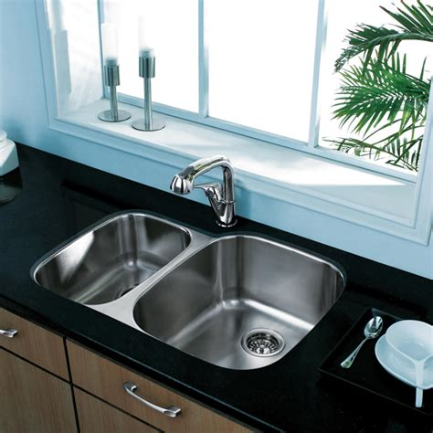Vigo Kitchen Faucet by 20 Quot Au Courant Quot Stainless Steel Sinks Abode