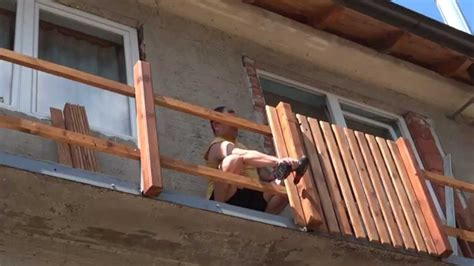 Balkonverkleidung Holz Selber Machen by Balkongel 228 Nder Holz Selber Bauen Balkongestaltung