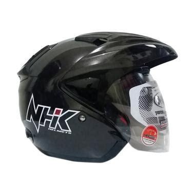 Helm Nhk Half Nhk Crypton Nhk Visor jual nhk predator visor helm half gun metal harga kualitas terjamin