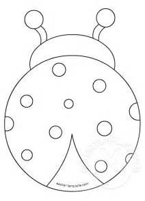 ladybug template ladybug cut out patterns patterns kid