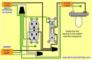 switch and receptacle same box wood projects box electrical wiring and light