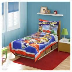 Toddler Bedroom Sets Target Paw Patrol All Paws On Deck 4 Toddler Bed Target