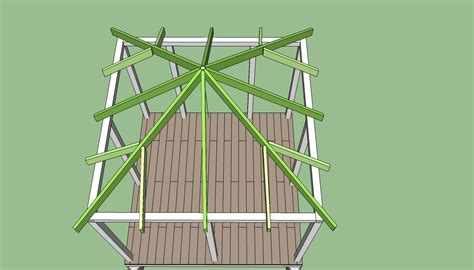 How To Build A Roof How To Cut Rafters For An Octagon Gazebo Gazebo