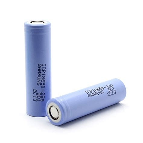 Baterai Samsung 18650 Ori Lithium Ion Cylindrical Battery 43v 28a samsung li ion battery 4 3v 28a with flat top icr18650