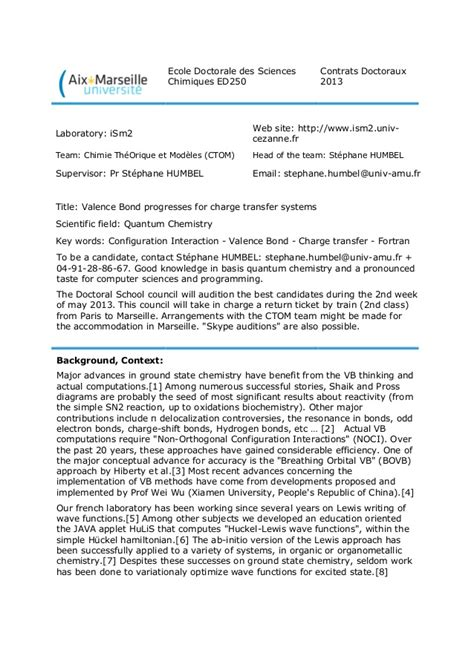phd position    theoretical chemistry
