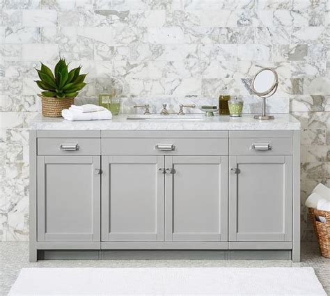 carrara marble console sink wide white carrara single sink console