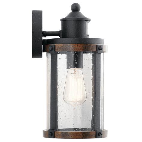 aged iron motion sensing outdoor led wall lantern motion activated led outdoor wall light outdoor lighting