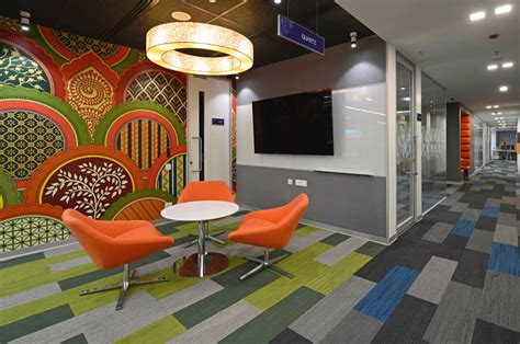 Design Experiment Hyderabad | nizam culture reflects in office decor of pegasystems