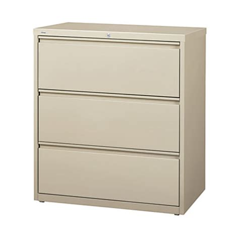 officemax lateral file cabinet 3 drawers 40 14 h x 36 w x