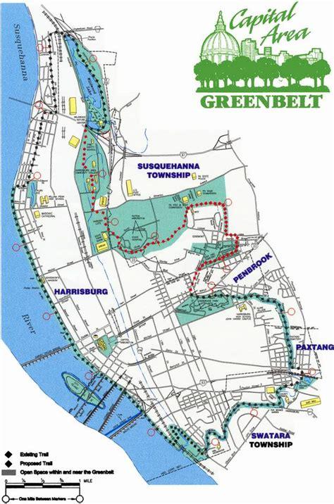 Garden City Greenbelt Parks In Harrisburg Pennsylvania