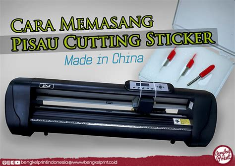 Pisau Cutting Sticker jual pisau cutting sticker harga jual mesin cutting sticker murah jinka teneth redsail mimaki
