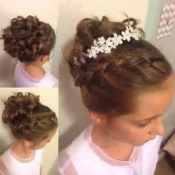 bridal hairstyles for children najpiękniejsze fryzury komunijne znajdź uczesanie dla