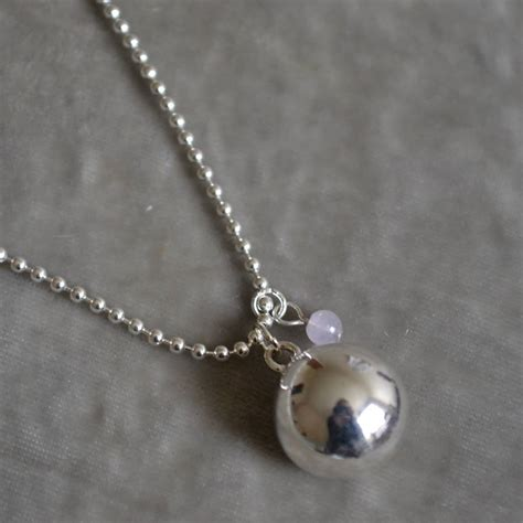 Special Bola Natal Mix Isi 12 Silver 4 Cm Aksesoris Natal Ornamen Na harmony pregnancy necklace with amethyst pearl by the karma shop notonthehighstreet