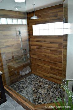 amazing bathrooms  wood  tile modern shower woods  modern