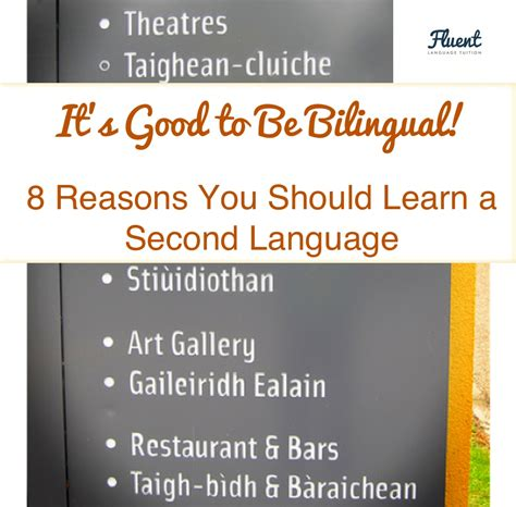 8 Reasons To Be A by It S To Be Bilingual 8 Reasons You Should Learn A
