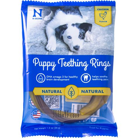 teething bones for puppies n bone puppy teething ring