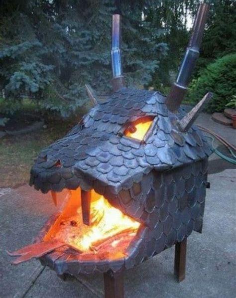 Dragon Head Fire Pit Ftw Craziest Gadgets Firepit Pizzeria