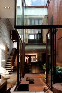 Home Design New York Style The Inverted Warehouse Townhouse Of New York Home Design