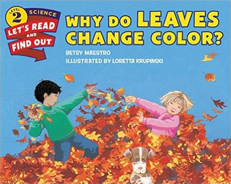 why do the leaves change color 11 books to get excited about fall diary of a
