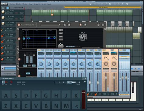 download full version recording studio software free magix music maker production suite download