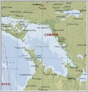 georgian bay canada map