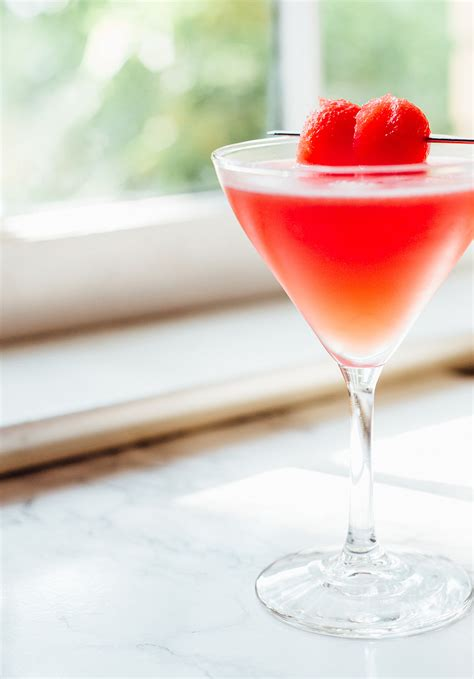 martini watermelon award winning watermelon martini food banjo