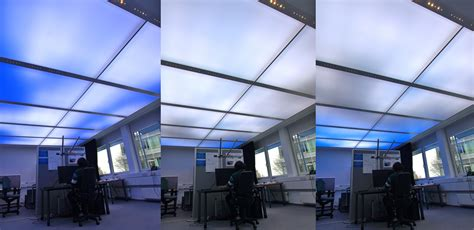 Building Ceiling by Feature Lightscaping Light As Building Material In Contract Spaces And Beyond Orgatec News