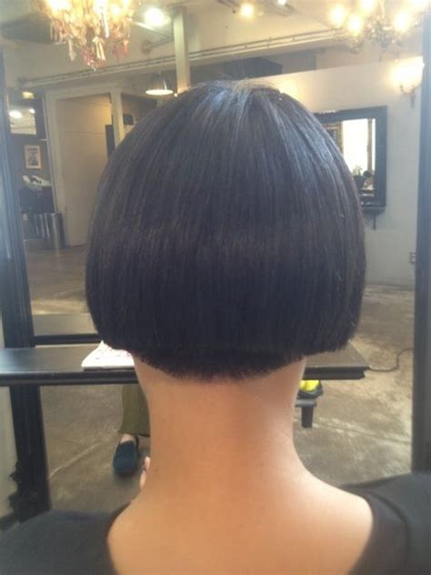 buzzed nape bob buzzed nape hairstyles pinterest a kiss kiss and