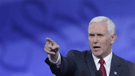 vice presidente vice president mike pence at cpac we need your prayers